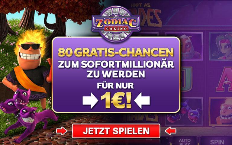 Zodiac Casino Abmelden